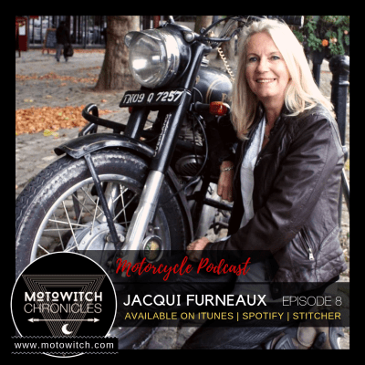 Jacqui Furneaux motorcycle traveller and author