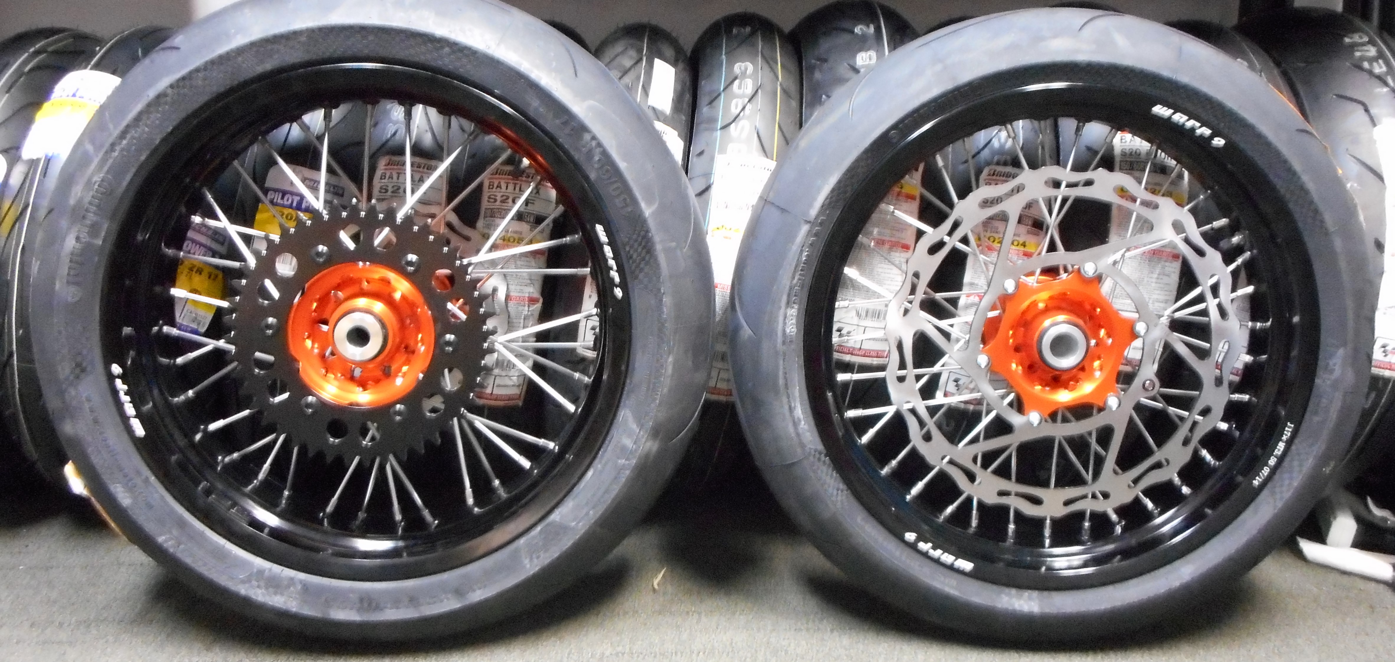 Supermoto Conversion Kit Supermoto Wheels And Tires