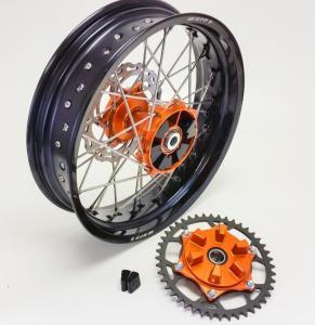 Warp 9 Rear Supermoto Wheel (Cush Hub)