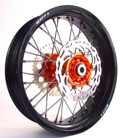 Warp 9 Rear Supermoto Wheel