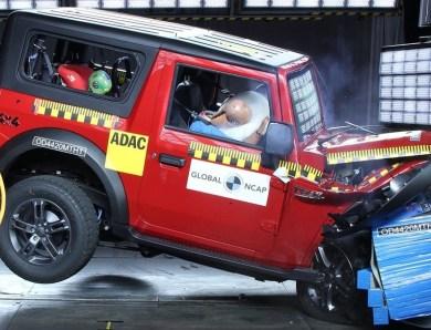 2020 Mahindra Thar Crash Test [Video]