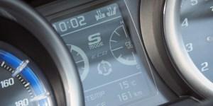TMAX530DXのメーターにはグリップヒーターやシートヒーターの作動状況が表示される