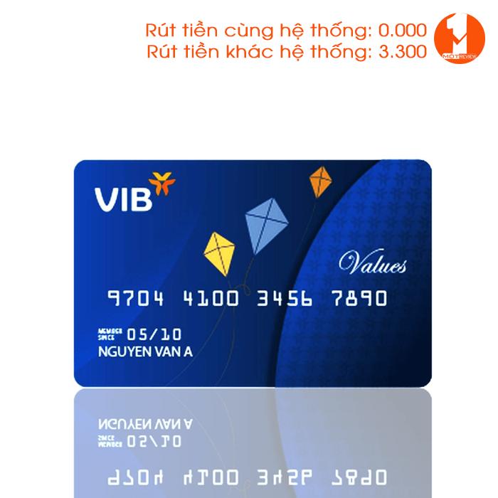 Thẻ ngân hàng VIB Bank
