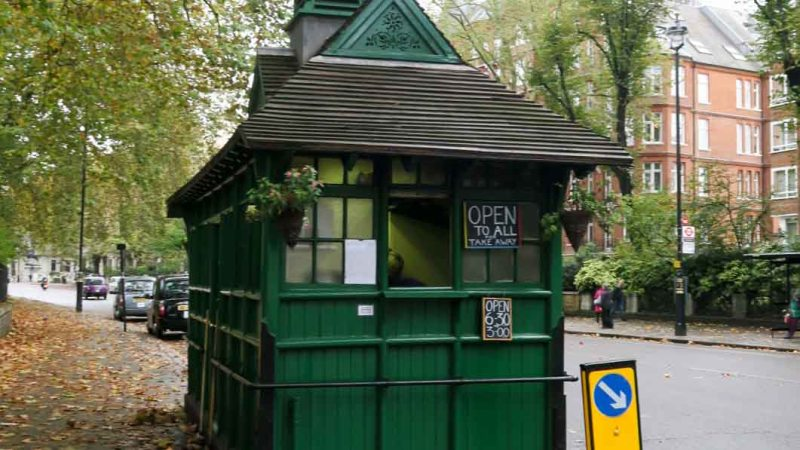 Cabmen's Shelter on Kensington Road