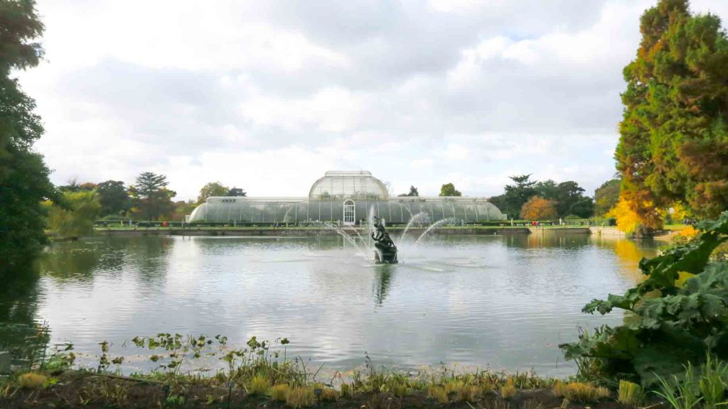 The Palm House at Kew Gardens, London