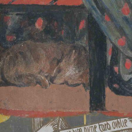 Pre-Raphaelite wombat