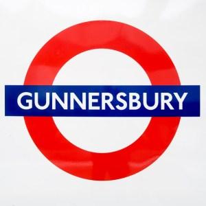 Gunnersbury Tube sign