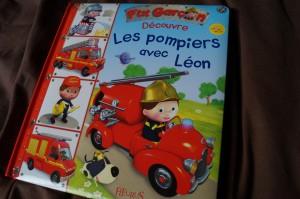 Les pompiers avec Léon
