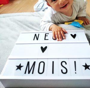 Mots d'maman  9 mois