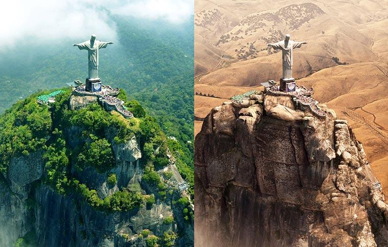 Lo que una sequía mundial ocasionaría en distintos monumentos históricos