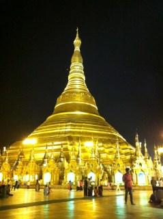 ミャンマー観光地:シュダゴンパゴダ