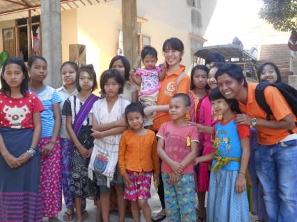 2017年2月 ミャンマー支援活動