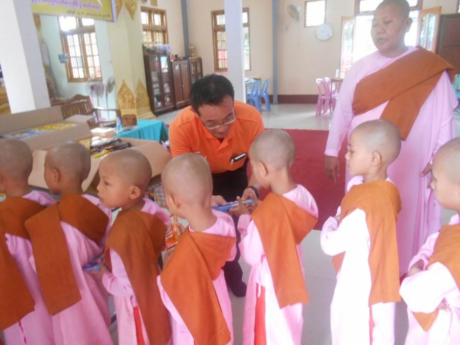 2017年11月 ミャンマー支援活動