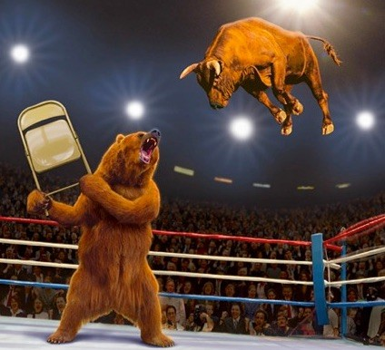 Stocks Fall Again and The Russell May Be Signalling A Bearish Sign