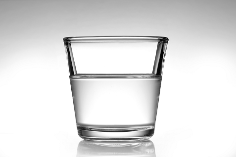 Is The Glass Half Full or Empty, or Merely Too Big - Perspective Matters