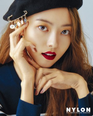 Im Na-young, IoI, presented her first beauty pictorial through her nylon October issue.