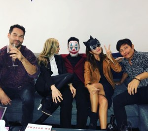 Lee Byung-hun ♥ Lee Min-jung Attends Halloween Party ... 'Sexy Catwoman'