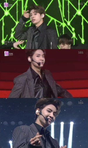 Lee Jin Hyuk sheds a deadly charm in 'SBS Inkigayo'
