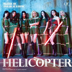 CLC Today (2nd) 'Helicopter' comeback... Upgrade charm