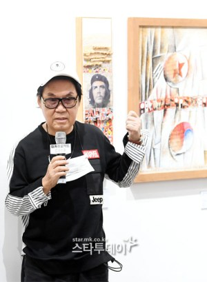 """Cho Young-nam """"I become a painter with a story thanks to 5 years of battle on the court."""""""