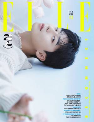 """Park Seo-joon, cover decoration """"The light is attractive"""" (pictorial)"""