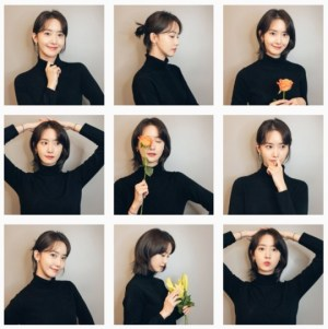 Im Yoon-ah's official SNS opened, Yuri's cute grievance