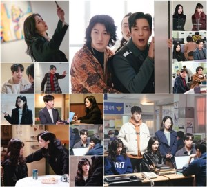 Jang Na-ra and Jung Yong-hwa of 'Daebak Real Estate',  exorcism record catches a ghost and catches a criminal
