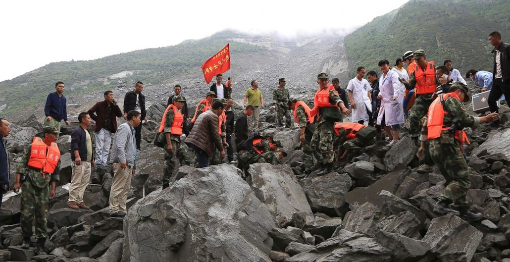 [VIDEO] More Than 100 People Are Feared Buried by Landslide in Southwestern China