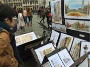 Sketching dijual di Brussels