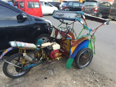 Becak motor bang Oji Belek