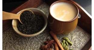 الشاي الهندي بالزنجبيل والحليب (الكراك)