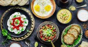 أغذية وجبة السحور