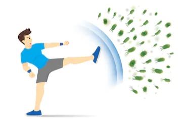 فوائد الإستحمام بعد التمرين