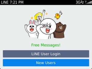 LINE on BB