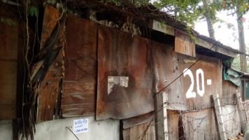 House in Khlong Toei Slum