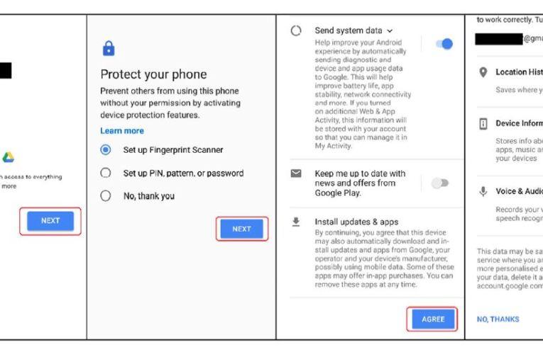 Google et les 7 plaintes