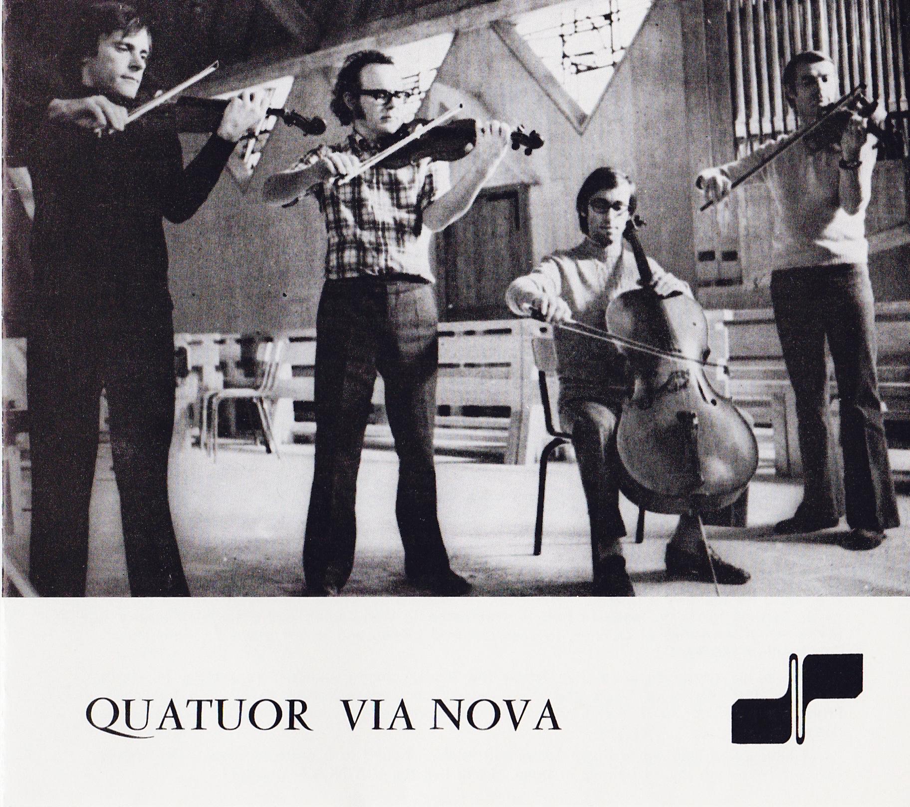 Quatuor Via Nova – Via Nova