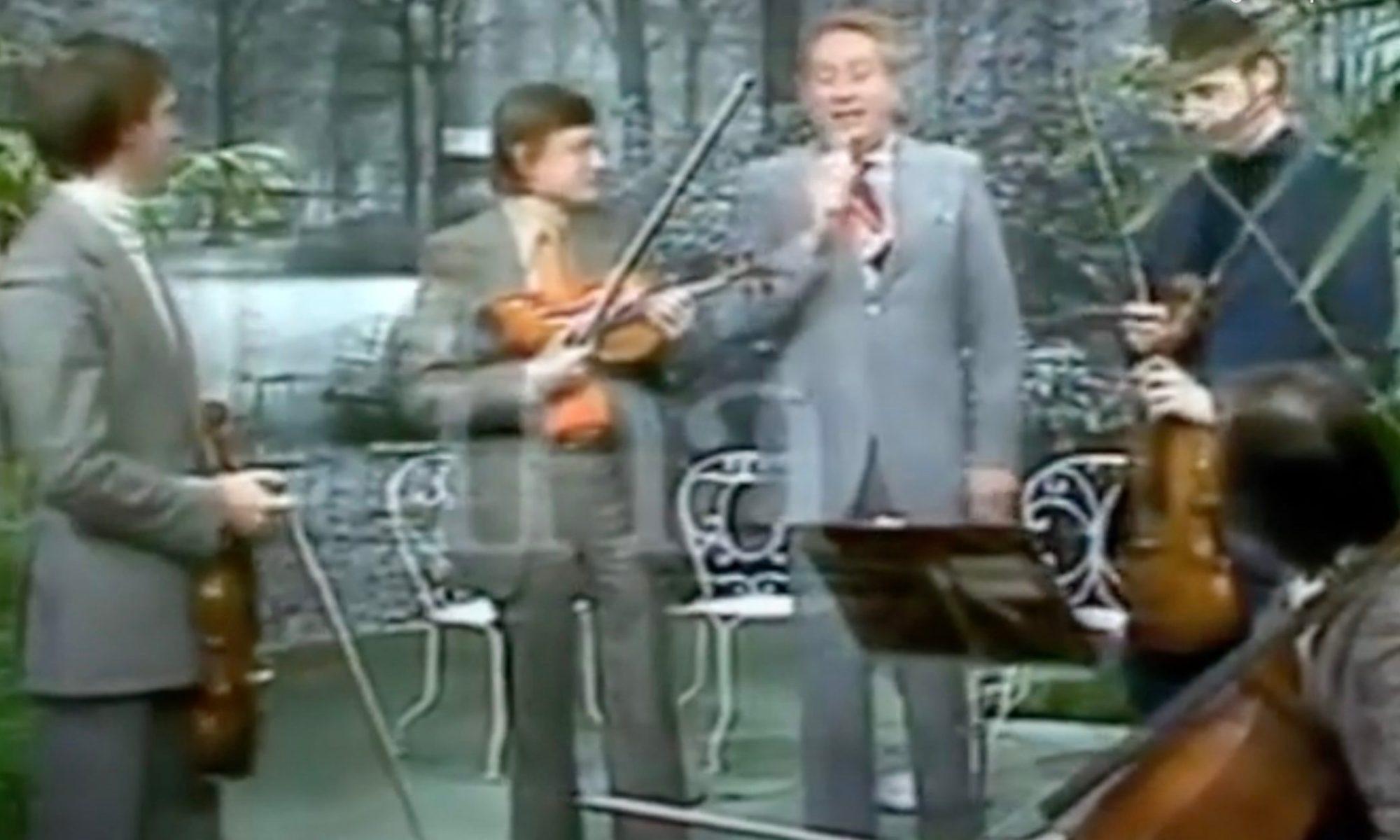 Quatuor Via Nova 1976, Charles Trenet