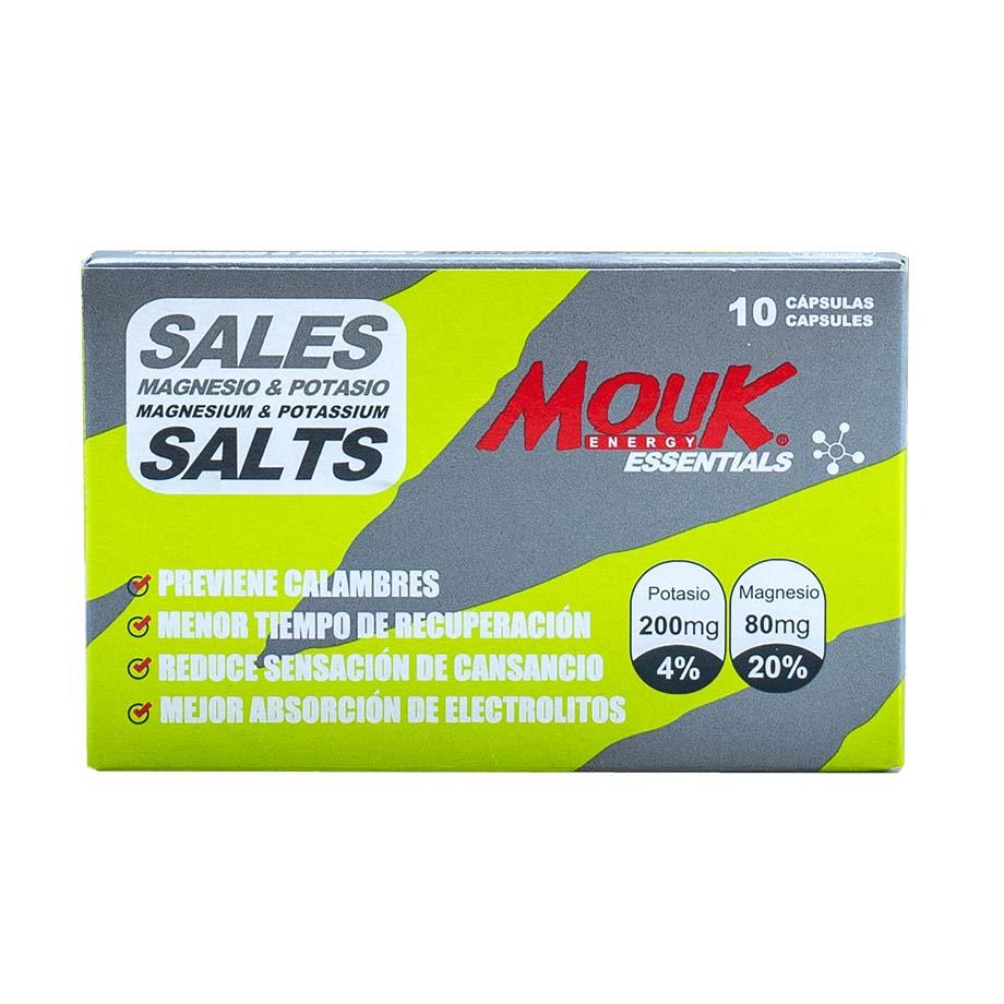 Sales MouK ESSENTIALS 10u. Magnesio y Potasio.