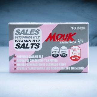 Sales MouK ESSENTIALS B12 10u. Magnesio, Potasio y Vitamina B12.