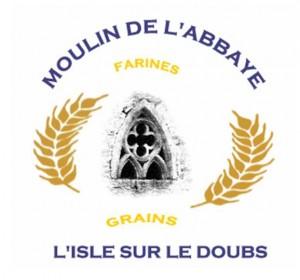 Logo Histoire Moulin de l'abbaye Isle sur doubs