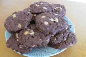 photo cookies chocolat.red