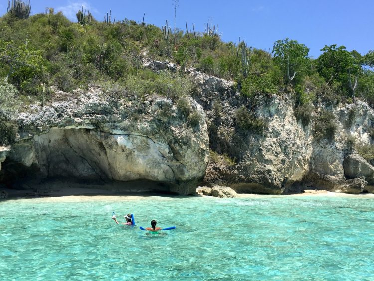 Anse a Pirogues boat excursion
