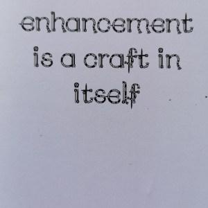 Yarn enhancement is a craft in itself card