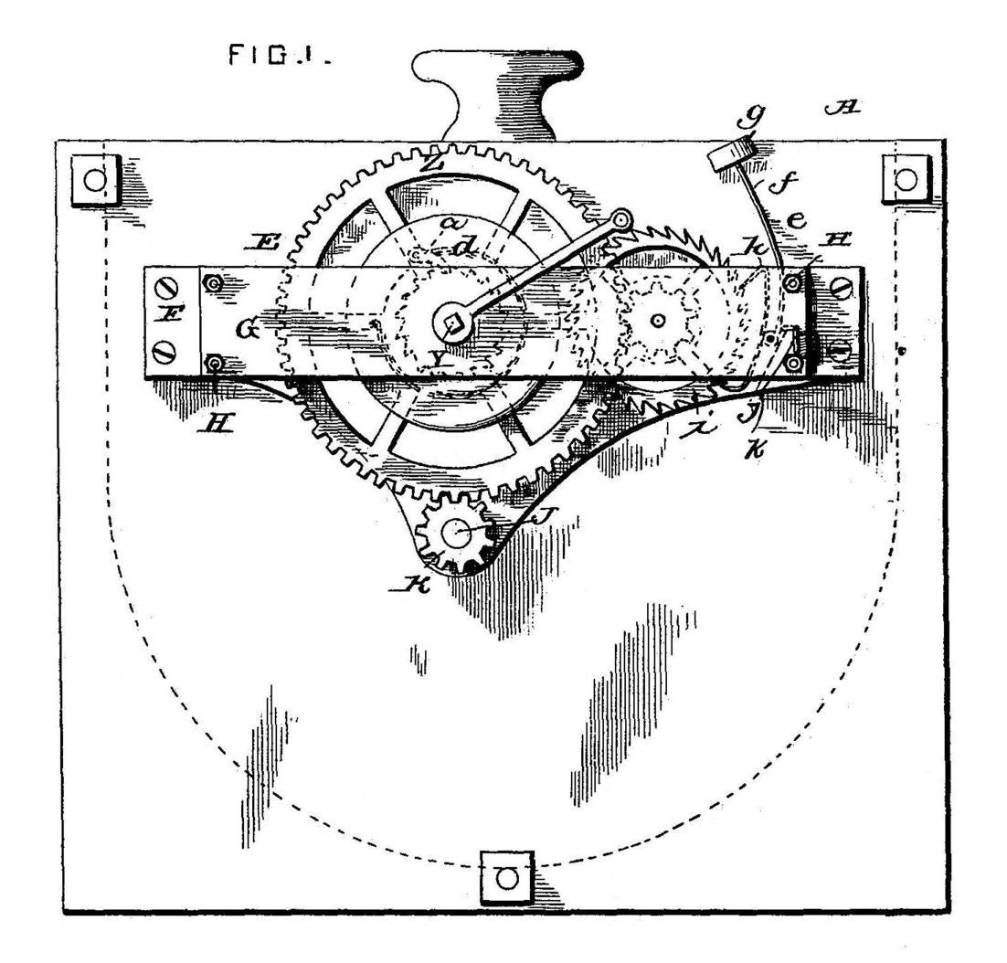 William H And Eddy G Monroe Patent Motor
