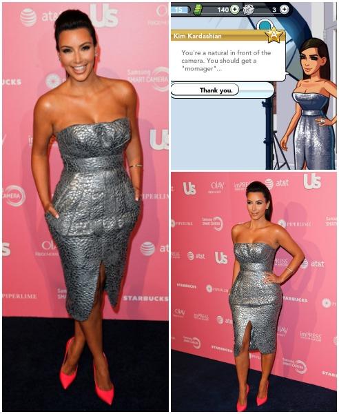 Date Outfit Kim Kardashian Game