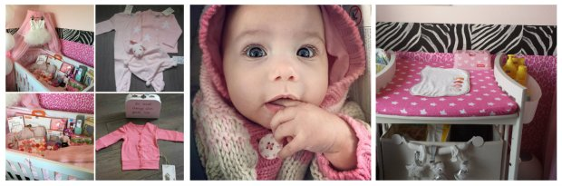 babykamer meisje roze