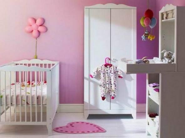 Creatief Babykamer Meisje : Babykamer inspiratie