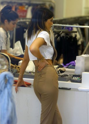 Kylie before bil vergroting