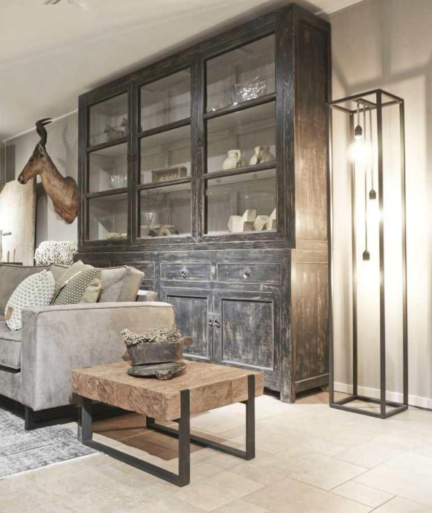 Mooi houten interieur
